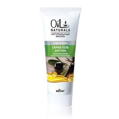 Белита (Belita) Oil Скраб-Гель для тела с масл Оливы и Кост Виногр Ровная кожа 200 мл - купить за 105.0 руб.